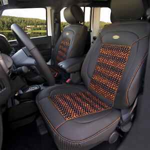 Premium Leather Seat Cushion Pad Covers For Auto Universal Fitment 4 Colors
