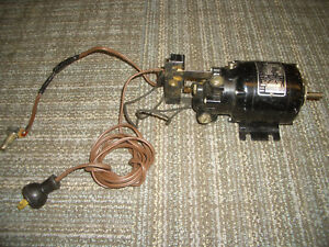 Bodine Electric Company Speed Reducer Motor Nsp 11 R