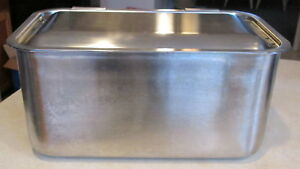 Hercules Stainless Steel Roasting Pan Steamer Rack Industrial