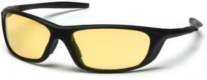 Pyramex Sb4430d Azera Safety Glasses Black Frame With Amber Lens 12 Pair