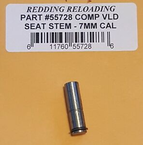 55728 REDDING VLD COMPETITION SEATING DIE STEM - 7MM CAL - NEW - FREE SHIP