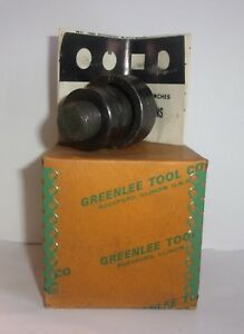 Greenlee Tool Company 730 1 7 32 Radio Chassis Punch New In Box