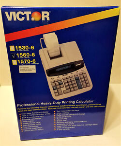 Victor Technology 1530 6 12 digits Professional Heavy duty Printing Calculator