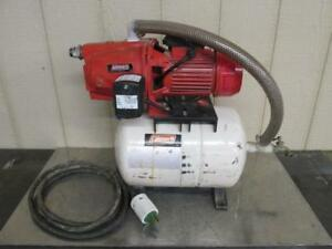 Coleman 7 swjv Nonsubmersible Shallow Well Water Pump With Tank 115 230 Volt