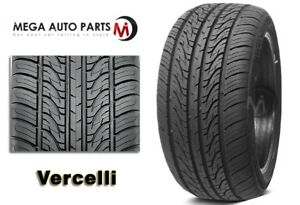 1 New Vercelli Strada Ii 225 40r18 92w Xl All Season Performance Tires