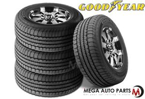 4 New Goodyear Fortera Hl P245 65r17 105t All Season Traction Tires