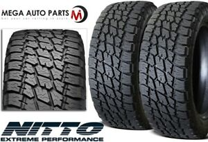 2 Nitto Terra Grappler Lt315 75r16 121q D Tires