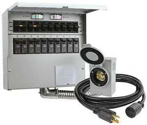 Reliance Controls Corp 10 circuit Transfer Switch Kit 310crk