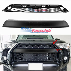 For 2014 2019 Toyota 4runner Trd Pro 2 Piece Front Bumper Grille Replacement
