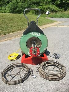 Spartan Tool 1065 Drain Cleaning Machine W cable Ready To Go No Shipping