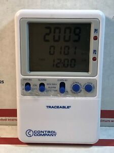 Control Company Traceable 4239 Refrigerator Freezer Digital Thermometer