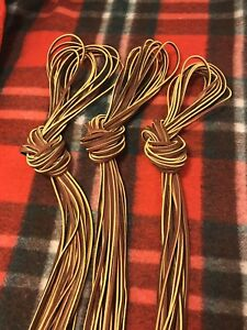 Lot Of 10 Leather Lacing 1 8 Inch By 68 Inches