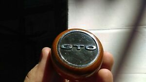 Vintage Ferrari Gto Original Wood Gear Shift Knob Handle