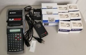 Lot Brady Tls2200 Thermal Labeling System 3 Ribbon R4310 6 250 roll Ptl 31 427