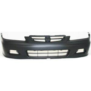 Front Bumper Cover For 2001 2002 Honda Accord Coupe Primed Plastic
