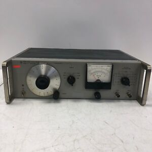 Hewlett packard 651a Test Oscillator Tested And Working Rare Vintage Hp