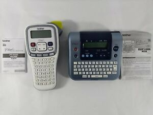 Brother P touch Label Maker Pt h100 And Pt 1280 Tested And Works