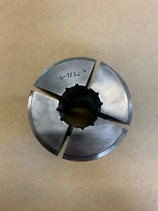 1 7 32 Round Serrated Collet Index B60 b s 23a