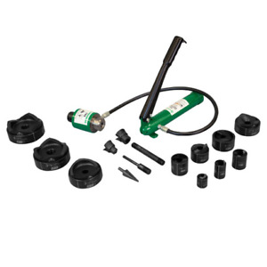 Greenlee 7310sbsp Speed Punch Kit With Hydraulic Pump Ram 1 2 To 4 Conduit