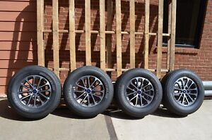 2018 Ford F150 Xlt 18 Inch Takeoff Wheels And Tires Set Without Tpms Sensors