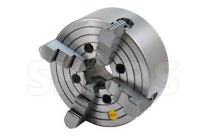 Shars 8 4 Jaw Independent Lathe Chuck With Tir Certification New R