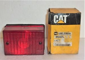 Caterpillar Cat 3e 6467 Red Stop Lamp G Signal 3e 6467 New In Box