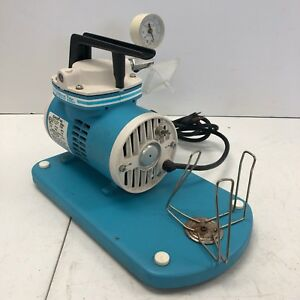 Schuco vac Vacuum Aspirator Suction Oil less Pump S130 Tested Working