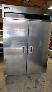 Delfield Refrigerator Model 6051 s Stainless Steel Works Great