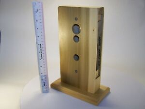 Locksmith Wooden Display Block For Mortise Lock