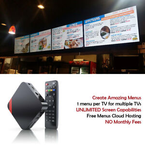 Digital Signage Players With Free Signage Cms Software