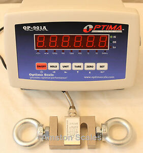 5 000 Lb S type Load Cell Led Indicator Hanging Crane Scale Tension Compression