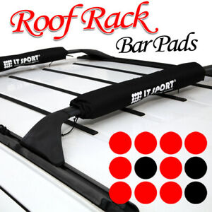 04 14 Scion Soft Roof Top Rack 21 Cross Bars Pads Cover Luggage Carrier Set