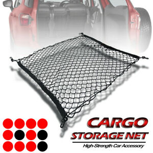 Cargo Trunk Net Double Layers Organizer Rear Storage Envelope 93 12 For Subaru