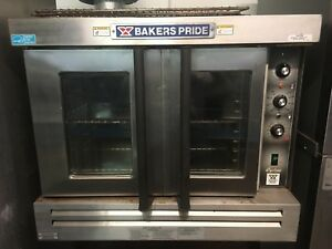 Bakers Pride Cyclone Gdco g1 Single Deck Full Size Gas Convection Oven