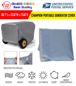 For Champion Generator Portable Weather Dustproof Storage Cover Large Protection