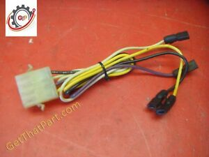 Wolf Air Flow Afs 100e c Circulating Oven Fan Switch Wiring Harness
