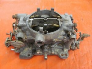 1965 65 Dodge Plymouth 383 413 426 Carter Afb Carb 3858s Dated L4