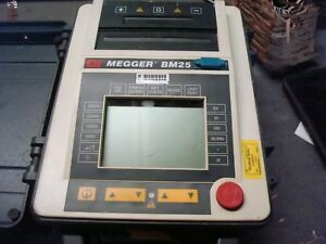 Used Avo Megger Bm25 5kv Insulation Resistance Tester Powers Up Free Shipping