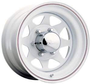 4 14 Inch Pacer 310w White Spoke 14x5 5 5x114 3 5x4 5 0mm White Wheels Rims