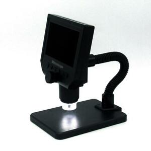 1080p Digital Microscope 4 3 Hd Camera 3 6mp 1 600x Magnifier G600 Portable Lcd