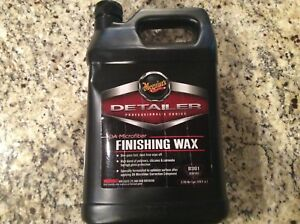 Meguiar s D30101 Finishing Wax 1 Gallon Da Microfiber