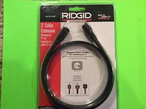 Ridgid 3ft Cable Extension No 37108 New In Original Package