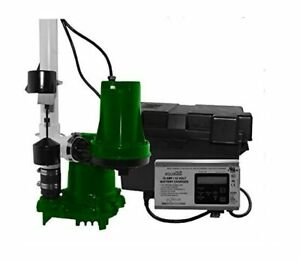 Zoeller 508 0006 Propack53 1 3 Hp Combination Primary Backup Sump Pump Syste
