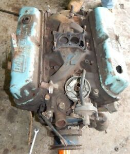 Original Ford Mustang Standard Bore 1968 289 2v Engine Assembly August 17th 1968