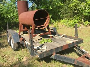 16 Trailer With Large Unfinished Smoker