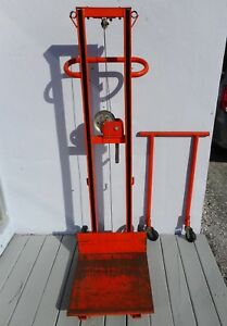 Ecoa 500 Lb Platform Lift Winch Hand Truck Cart Llc 202058 Local Pickup Fl 34243