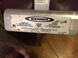 Werner Heavy Duty Ladder Jack Spans 3 Rungs