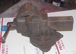 Vintage Chas Parker Vise 974 With 4 Jaws Pat 1930 Charles Parker Machinist