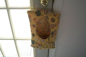 Vintage 40 S Clothespin Bag With Clothes Pins Retro Country Cottage