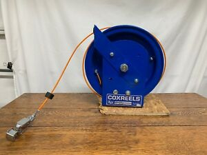 Coxreels Fz Sd 50 1 50 Spring Rewind Static Discharge Reel Stainless Steelcable
